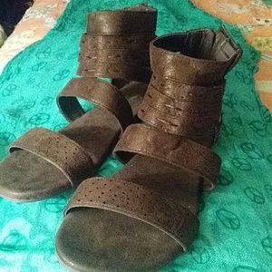 Corkey gladiator sandals